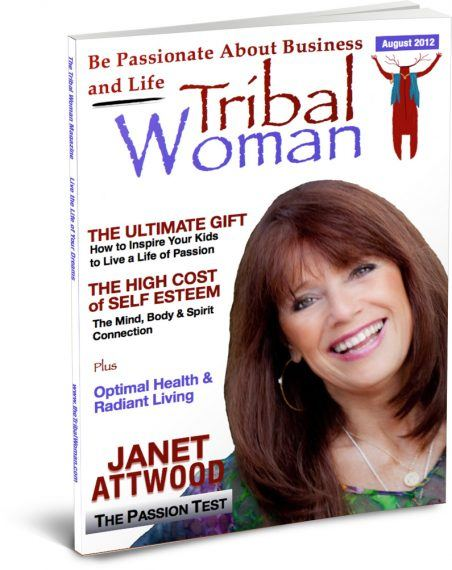 August Cover Tribal Woman Magazine