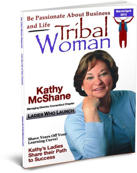 Sring Cover Tribal Woman Magazine