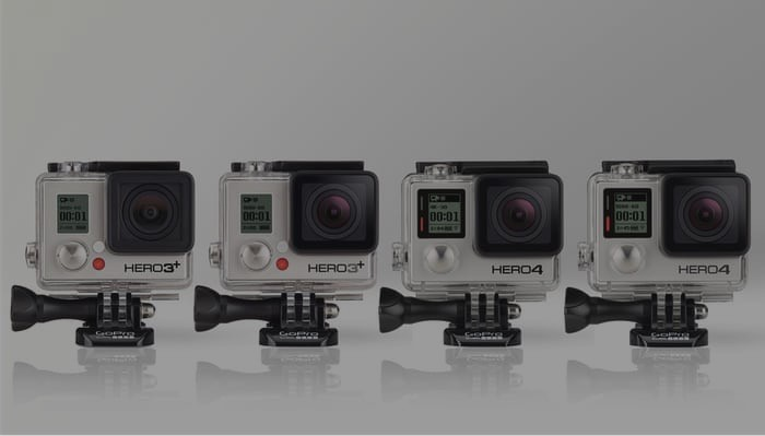 gopro hero4 vs hero3plus