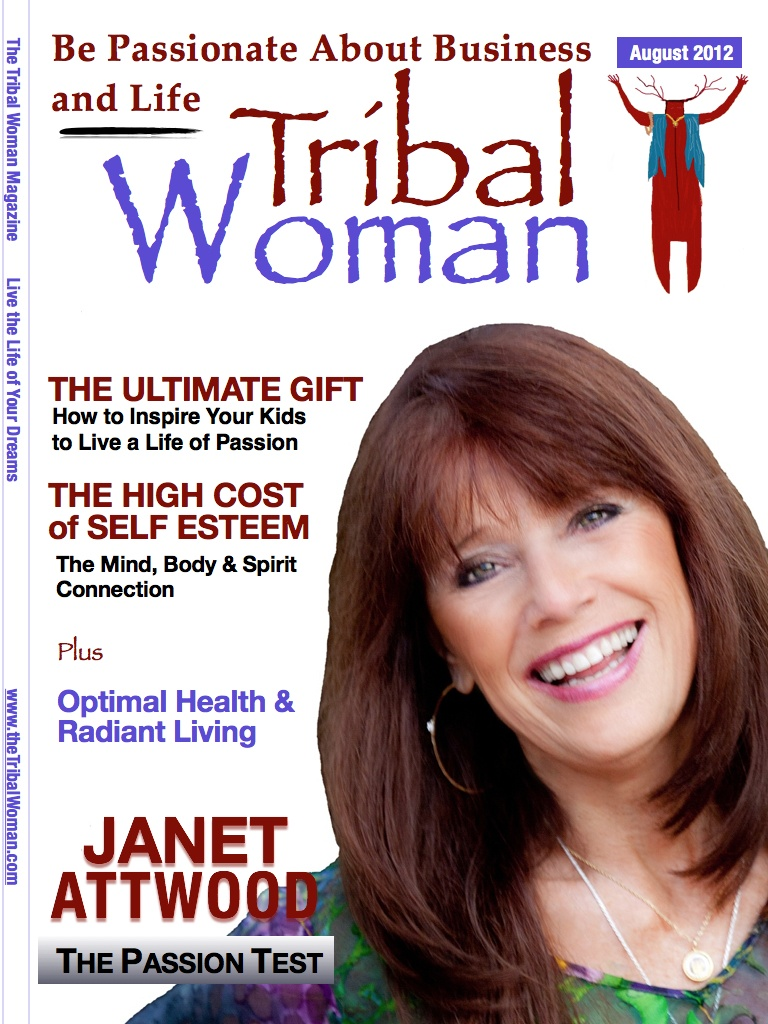 August Cover of Tribal Woman Magazine