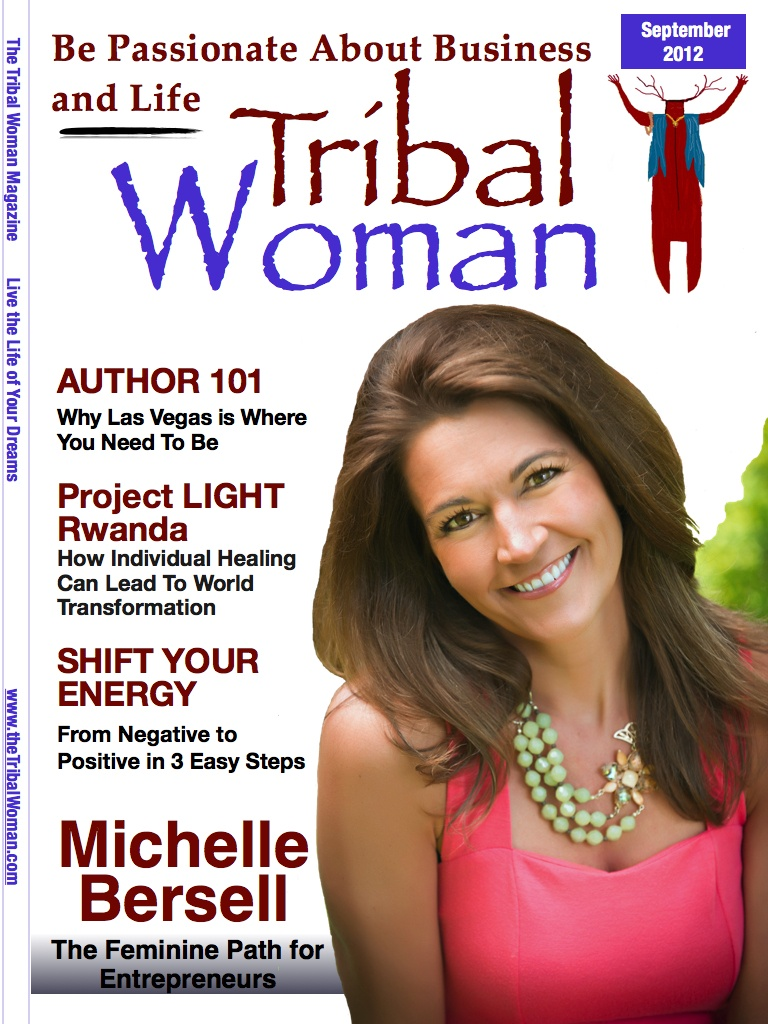 September2012_Tribal Woman Magazine Cover