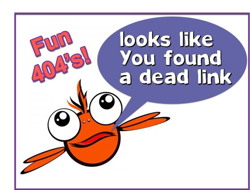 Fun 404 Error Pages