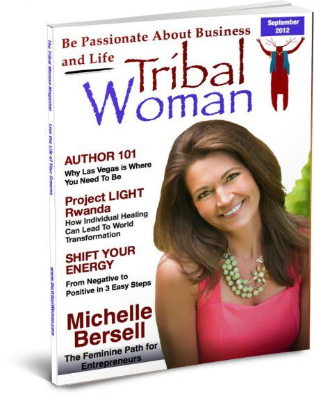 September Cover Tribal Woman Magazine
